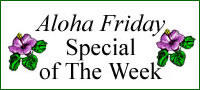 Aloha Friday Special from Aloha Island Coffee