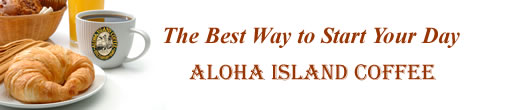 Aloha Island Coffee Breakfast Blends are the Best Way to Start Your Day