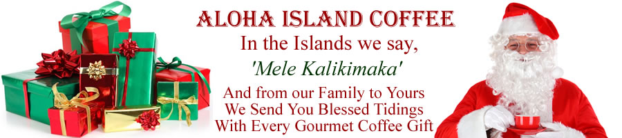 The Best Christmas Coffee Gifts from Aloha Island Coffee