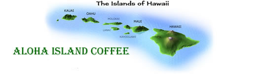Hawaiian Coffee Blends from Aloha Island Coffee