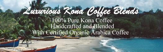Kona Coffee Blends from Aloha Island Coffee