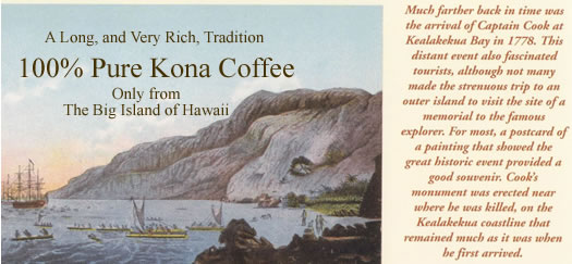 Pure Kona Coffee from Aloha Island Coffee is Certified by The State of Hawaii