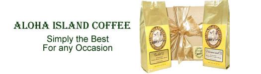 Gift Boxed Coffee from Aloha Island Coffee